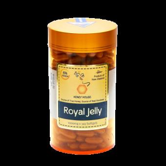 Honey House Royal Jelly Capsules 1000mg x 365caps (Best Before June 2023)