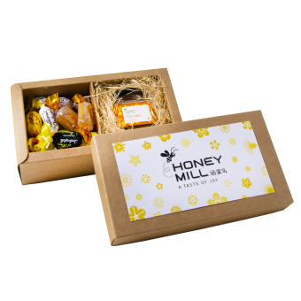 2-in-1 Italian Candies & Mini Honey Pot Gift Set